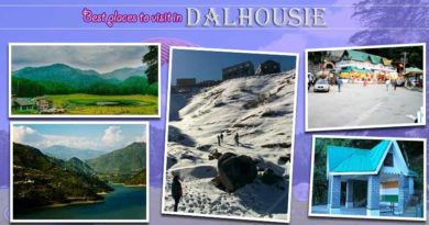 five best places to visit in Dalhousie
