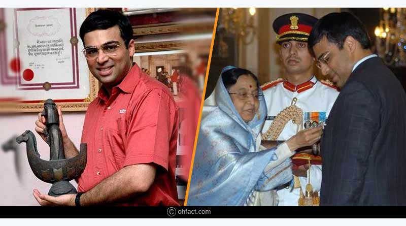 Interesting facts about Viswanathan Anand