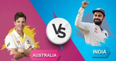 Australia Vs India First Test Match Teams