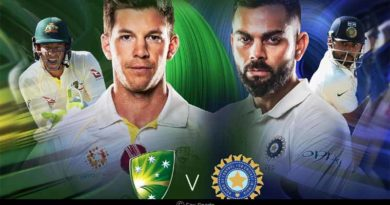 Australia Vs India Melbourne Test 2018