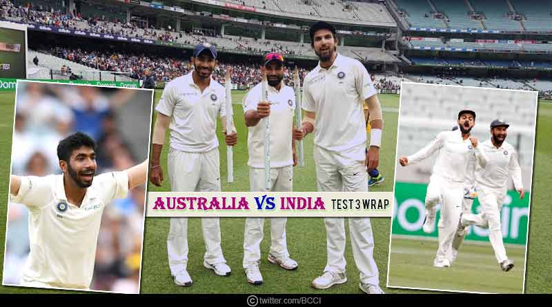 Australia Vs India Test 3 Wrap