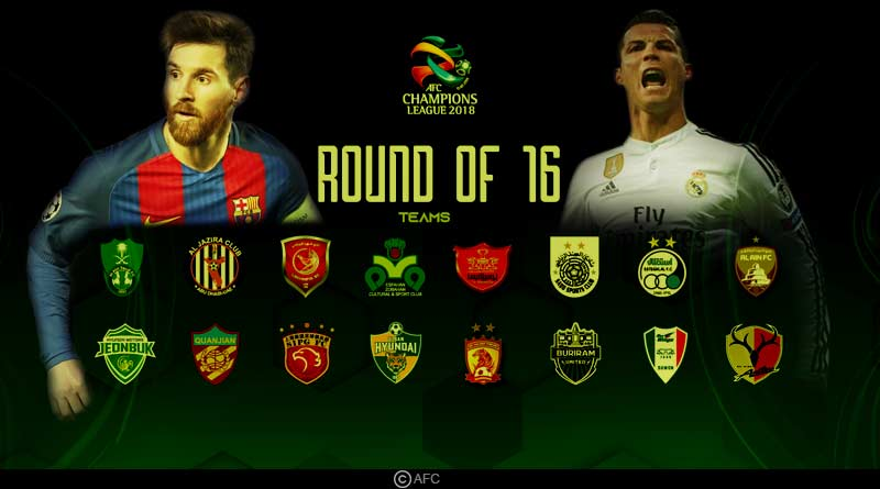 Champions League Round of 16 teams