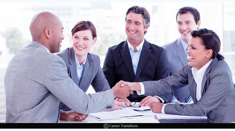 Conduct informational interviews/meetings