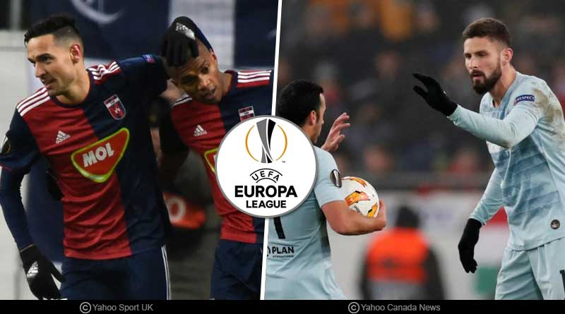 Europa League Round of 32 Teams