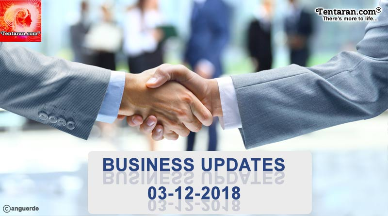 india business news 3rd december 2018