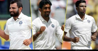 India Top 3 Bowlers