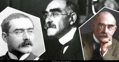 interesting facts about Rudyard Kipling