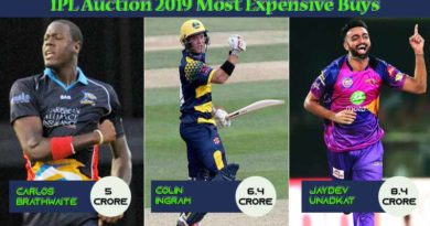 IPL Auction 2019 Most Expensive Buys