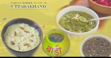 famous dishes to eat in Uttarakhand