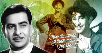 The showman of Indian cinema Raj Kapoor