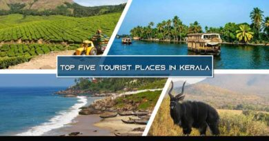 Top five tourist place in kerala