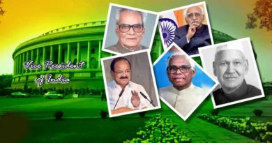 the Vice-Presidents of India
