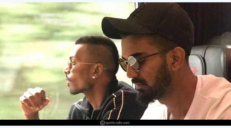 BCCI Suspends Hardik Pandya and KL Rahul