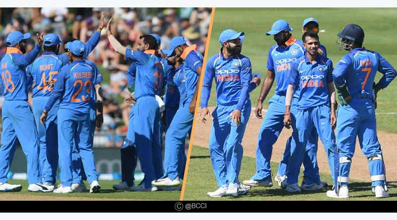 Ind vs NZ 1st one day match highlights hindi