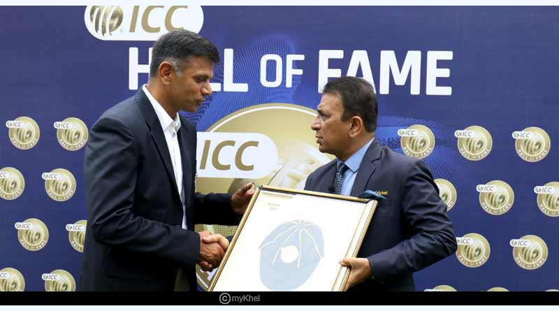 Rahul Dravid awards and records