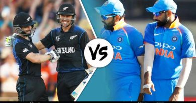 Main Players for India and New Zealand in the fourth ODI