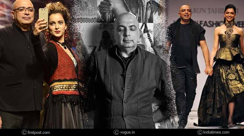 All About Veteran Fashion Designer Tarun Tahiliani Bollywood Ahilian