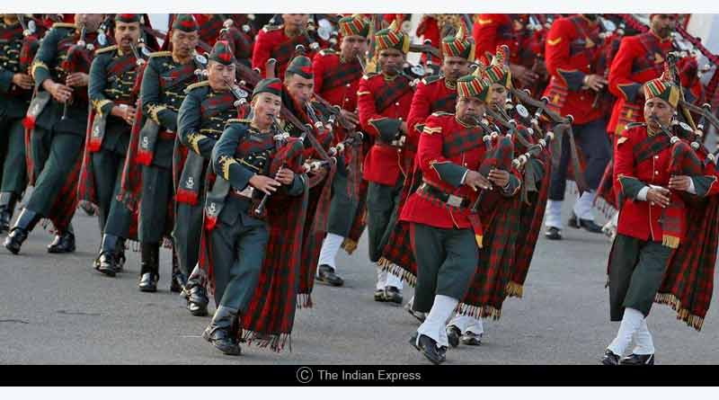 beating retreat republic day