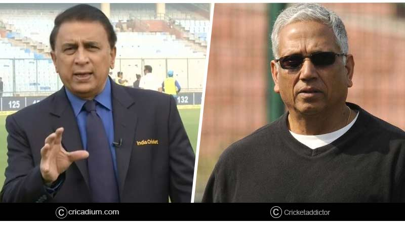 Sunil Gavaskar and M Amarnath