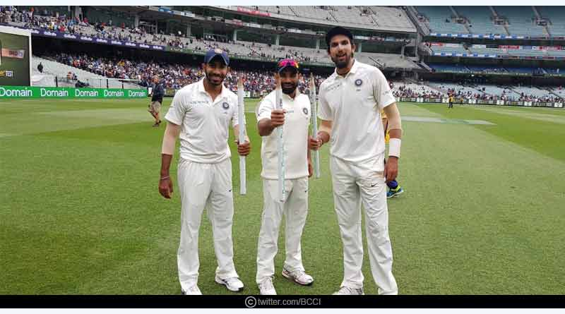 Bumrah, Ishant And Shami Break 39 Year Old Record