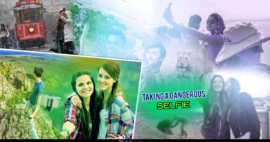 deaths while taking a selfie