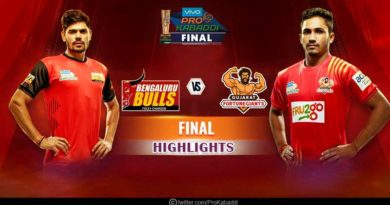 Gujarat Fortunegiants Vs Bengaluru Bulls Final