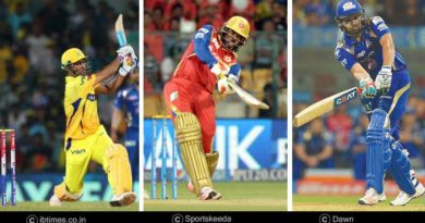 IPL players with most sixes