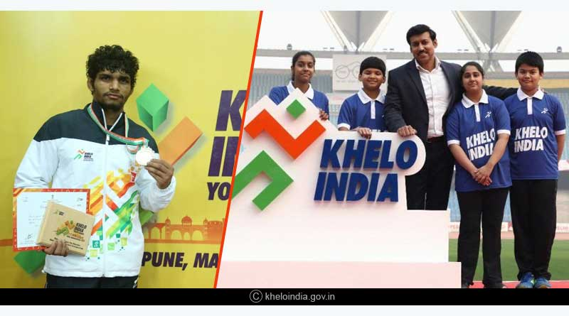 Khelo India Youth Games Sunday Results  Swimming Results (finals):
