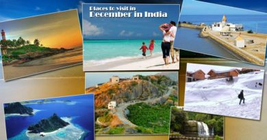places to visit in December in India