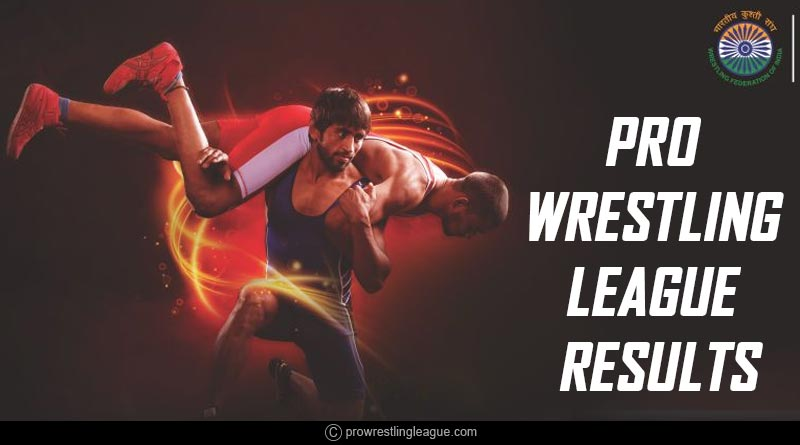 Pro Wrestling League 2019 Results