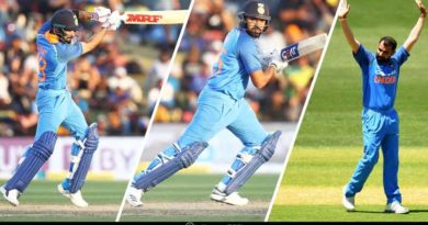 Star Performers for India in the Third ODI