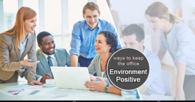 ways to keep the office environment positive