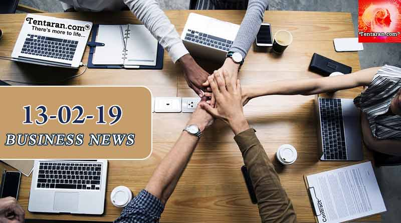 India business news headlines 13th February 2019