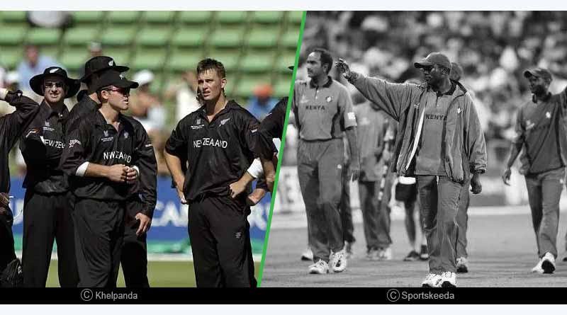 2003 World Cup: New Zealand refused to play against Kenya in their country