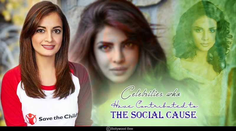 Bollywood celebrities who have contributed to social causes