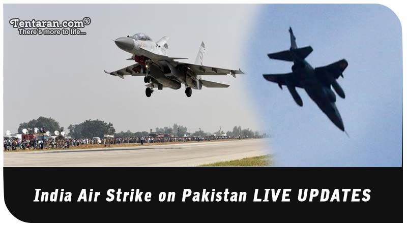 India Air Strike on Pakistan LIVE UPDATES