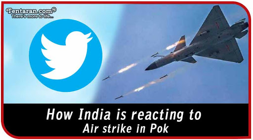 India strikes back with Air strike