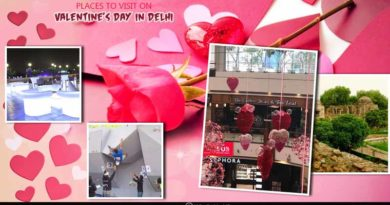 places to visit on Valentine's day in Delhi