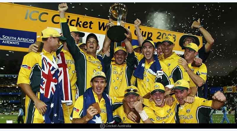 list of all the ODI World Cup winners