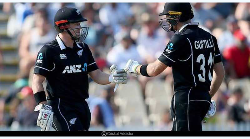 New Zealand's Opening Stand