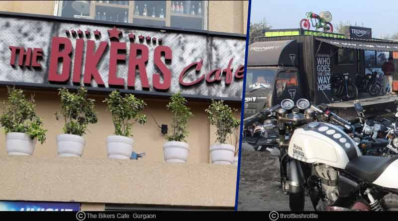 biker themed cafe in Delhi NCR