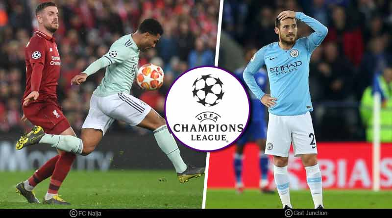 Champions League round of 16 Results
