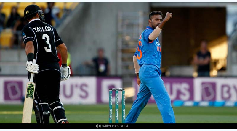 India wins by 8 wickets, DLS method