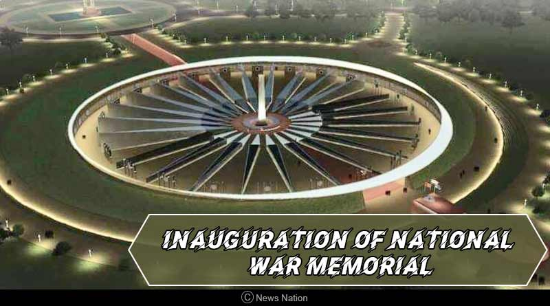 Inauguration of National War Memorial