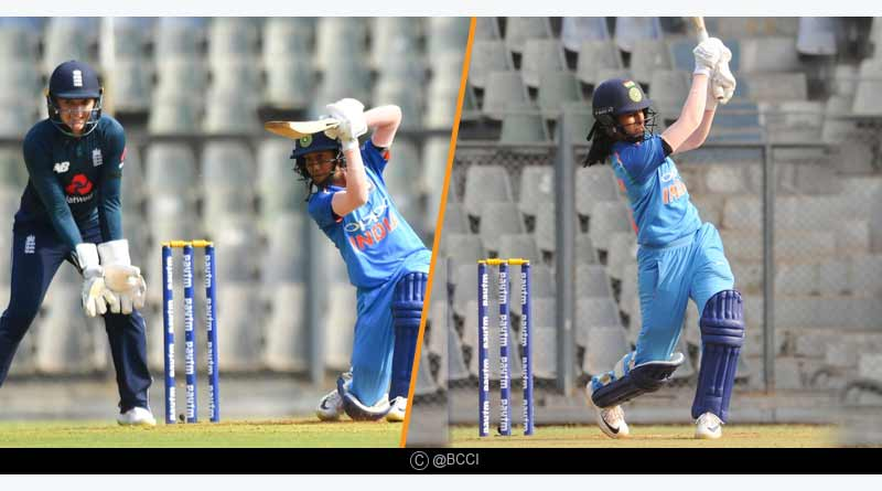 Ind vs Eng women 1st one day highlights