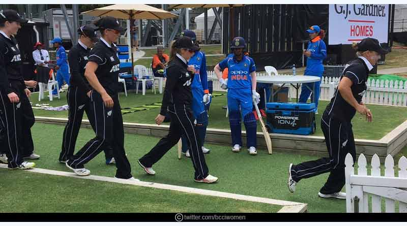 India Vs NZ women ODI series