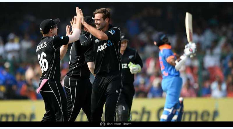 records set by team India against NZ in T20s