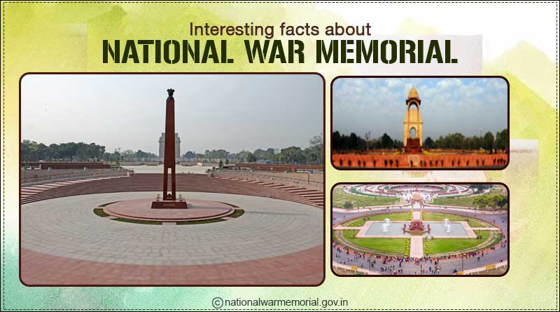 interesting facts about national war memorial delhi