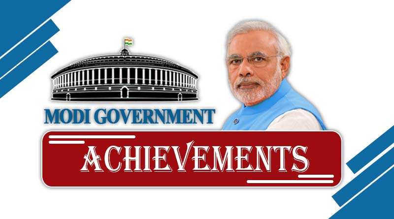 Modi government achievements