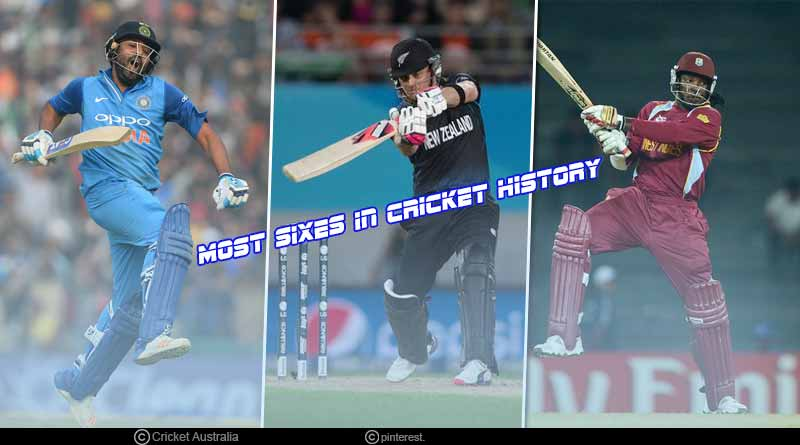most sixes in cricket history